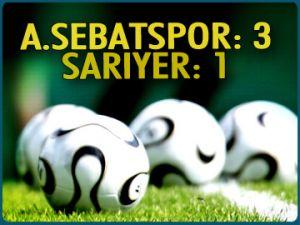 A.Sebatspor 3-1 Sarıyer