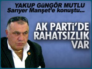 AK Parti'de rahatsızlık var