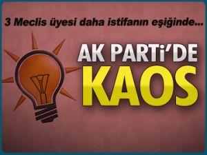 AK Parti'de tam bir kaos yaşanıyor