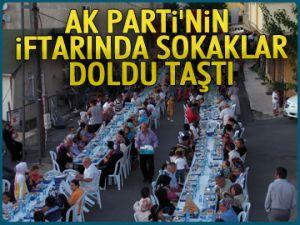AK Parti'den 2 bin kişilik iftar