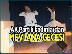 AK Parti'den Mevlana gecesi