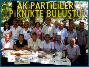 AK Partililer piknikte buluştu