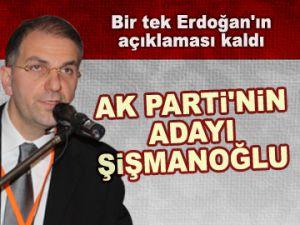 AK Parti'nin adayı Şişmanoğlu