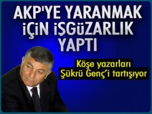 'AKP'ye işgüzarlık yaptı'