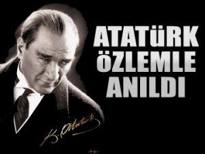 Atatürk özlemle anıldı