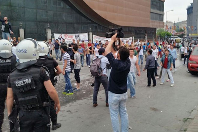 Ayazağada HDPye saldırı