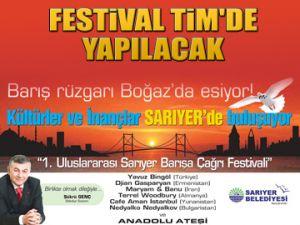 Barış Festivali TİM'de yapılacak