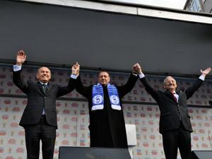 Başbakan Erdoğan: Biz Sarıyeri beraber inşaa edeceğiz