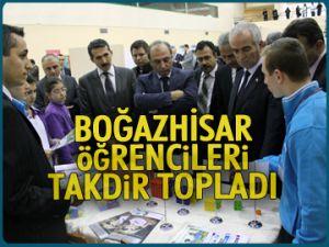 Boğazhisar'ın projesi takdir topladı