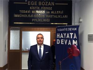 Bozan ailesi oğulları Ege'nin adına tedavi merkezi açtı