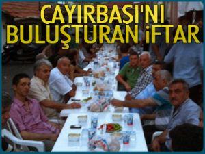Çayırbaşı'nı buluşturan iftar