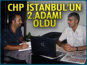 CHP İstanbul'un 2. adamı oldu