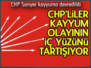 CHP Sarıyer kayyuma devredildi