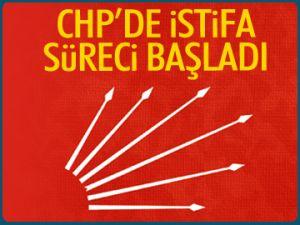 CHP'de istifa süreci başladı