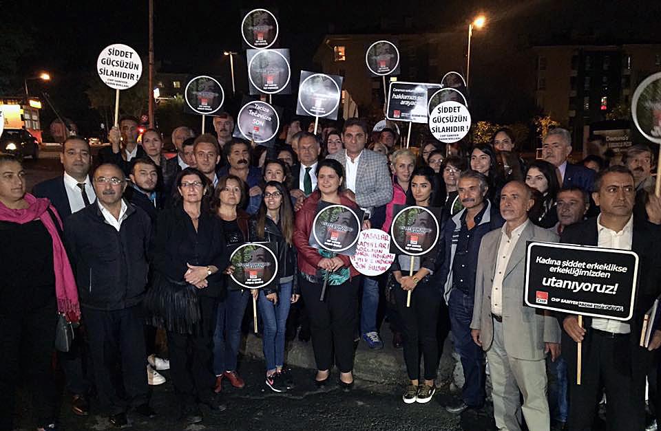 CHP'DEN AYŞEGÜL TERZİ'YE DESTEK