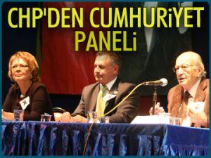 CHP'den Cumhuriyet paneli