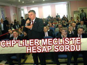 CHP'liler Meclis'te hesap sordu
