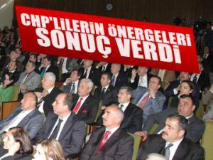 CHP'lilerin önergeleri sonuç verdi