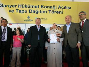 CHPnin engellediği tapular veriliyor!