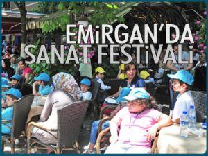 Emirgan'da sanat festivali