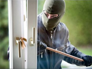Ev sahibini bağlayarak hırsızlık yaptı