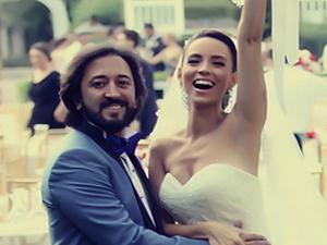 Fettah Can Sarıyerde evlendi