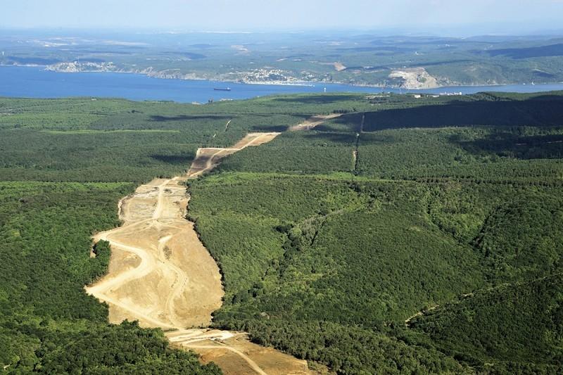 Sarıyer'in güzelim ormanlarına hançer gibi saplanan 5 proje 9