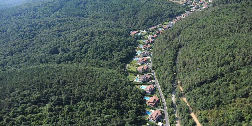 Sarıyer'in güzelim ormanlarına hançer gibi saplanan 5 proje
