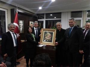 Giresun Federasyonu AK Partiyi ziyaret etti