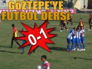 Göztepe'ye futbol dersi