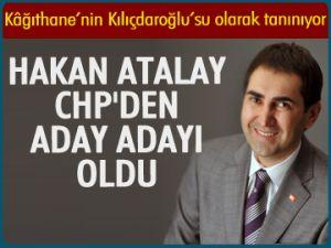 Hakan Atalay aday adayı oldu