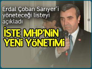 İşte MHP Sarıyer'in yeni yönetimi