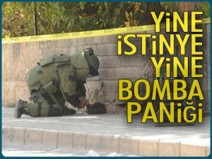 İstinye'de şüpheli paket paniği