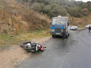 Kavak yolunda feci kaza