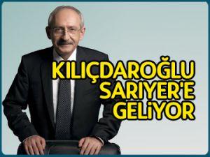 Kılıçdaroğlu Sarıyer'e geliyor