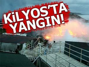 Kilyos Tırmata Beachte yangın!