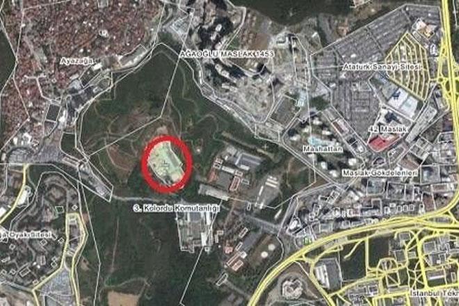 Maslak'taki Süperateş Fabrikası imar planı Büyükşehir'den geçmedi