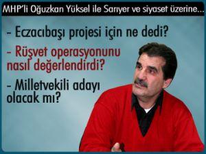 MHP'li Yüksel ile siyaset üzerine...