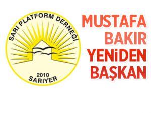 Mustafa Bakır yeniden başkan