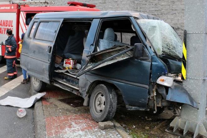 Sarıyer'de korkunç kaza!