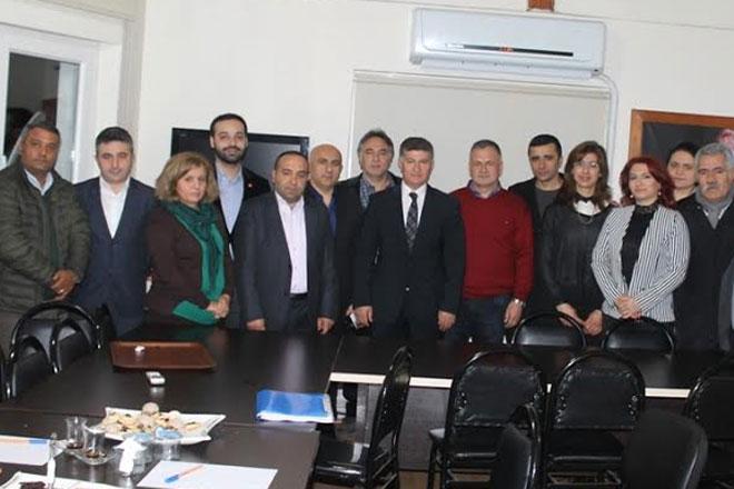 SASİDER'den Sarıyer'in sorunları için siyasi ziyaretler