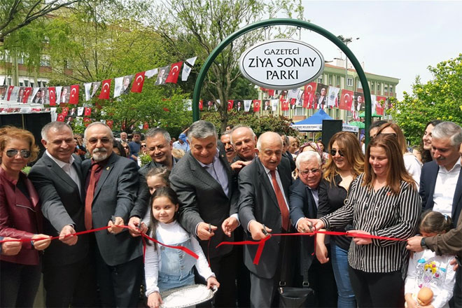 Ziya Sonay Parkı açıldı