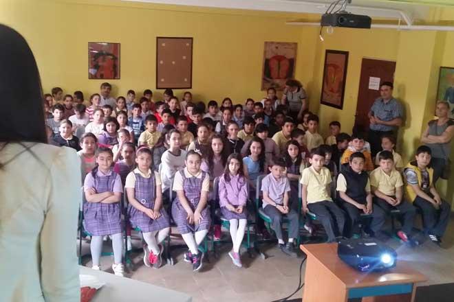 Öğrencilere gıda güvenirliği eğitimi