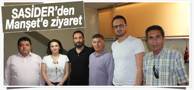 SASİDER'den Manşet'e ziyaret