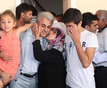Dostları Erol Aydın'ı acı gününde yalnız bırakmadı