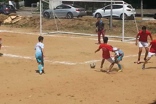 Sarıyer sokak futbolu turnuvası devam ediyor