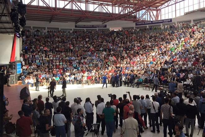 Yüzlerce Sarıyerli Hacı Bektaş-ı Veli'yi anmak için Nevşehir'de