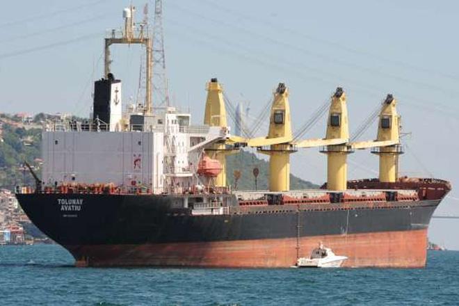 3 askerin şehit olmasına neden olan gemi Kireçburnu'na çekildi