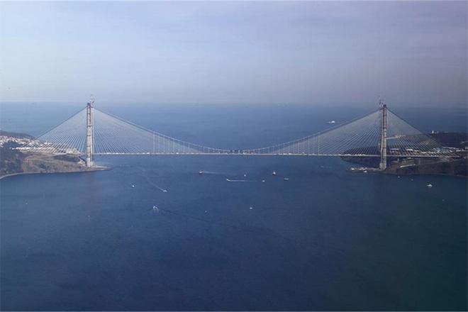 Yavuz Sultan Selim Köprüsü cuma günü açılıyor