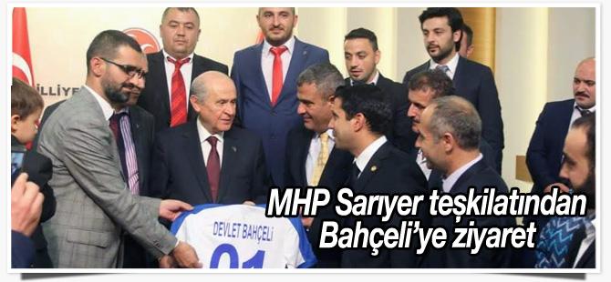 MHP Sarıyer ilçe teşkilatından Bahçeli'ye ziyaret